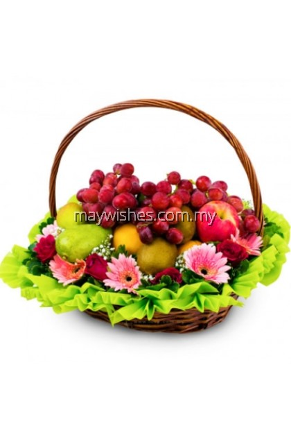 F05 Fruit & Flower Basket