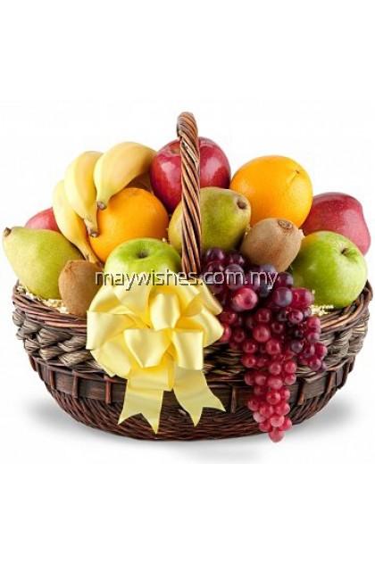 F06 Fruit & Flower Basket
