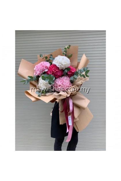 Hydrangea Bouquet 08