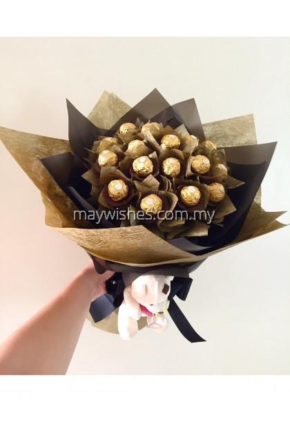Chocolate Bouquet 24 - CHOCOLATE JOY